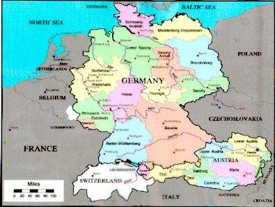 map of 16th century germany gosupsneek