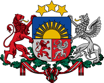 Coat of Arms for Latvia