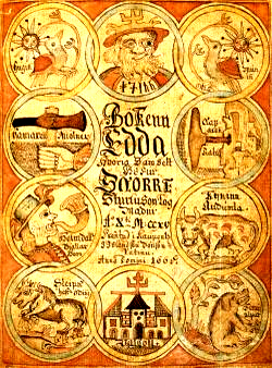 Norse book of poetry