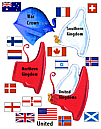 Red White Blue Patterns